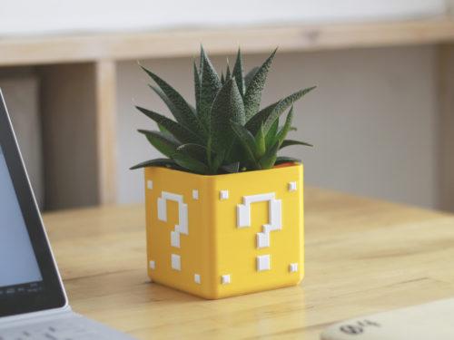 Caixa Mário - Geek - Impressão 3d