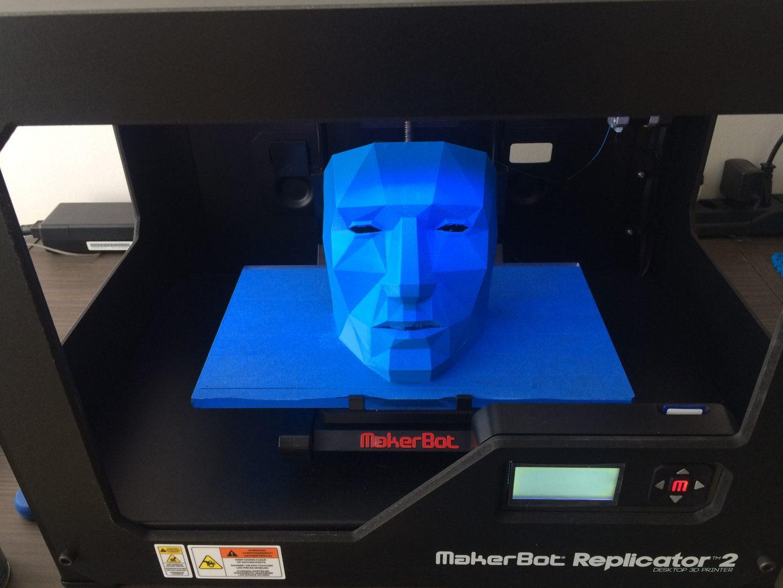 Máscara para decoração em casa - Impressão 3D