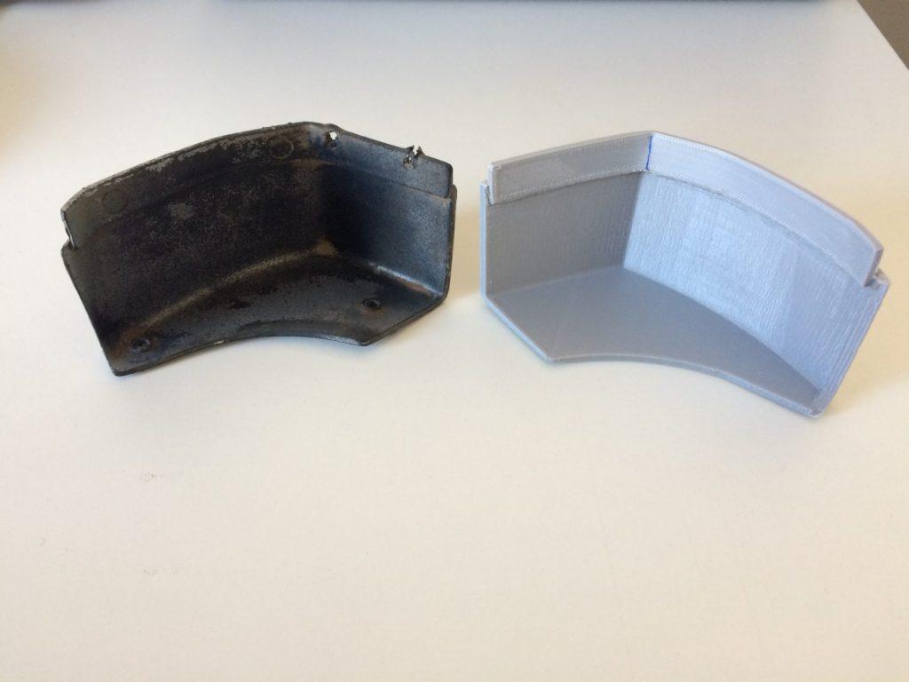 Peças de reposição em impressão 3D